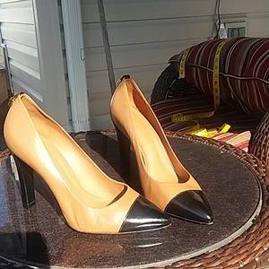 Tory Burch captoe heels